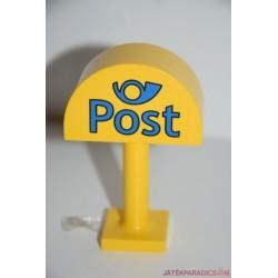 Lego Duplo sárga Posta tábla