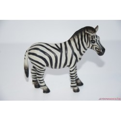Schleich zebra gumifigura