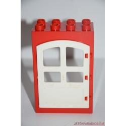 Lego Duplo piros ajtó elem