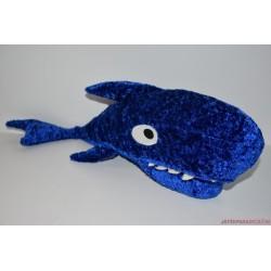 IKEA KORALL HAJ kék plüss cápa