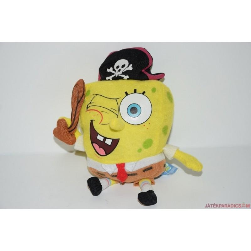 Spongebob plüss kalóz kulcstartó