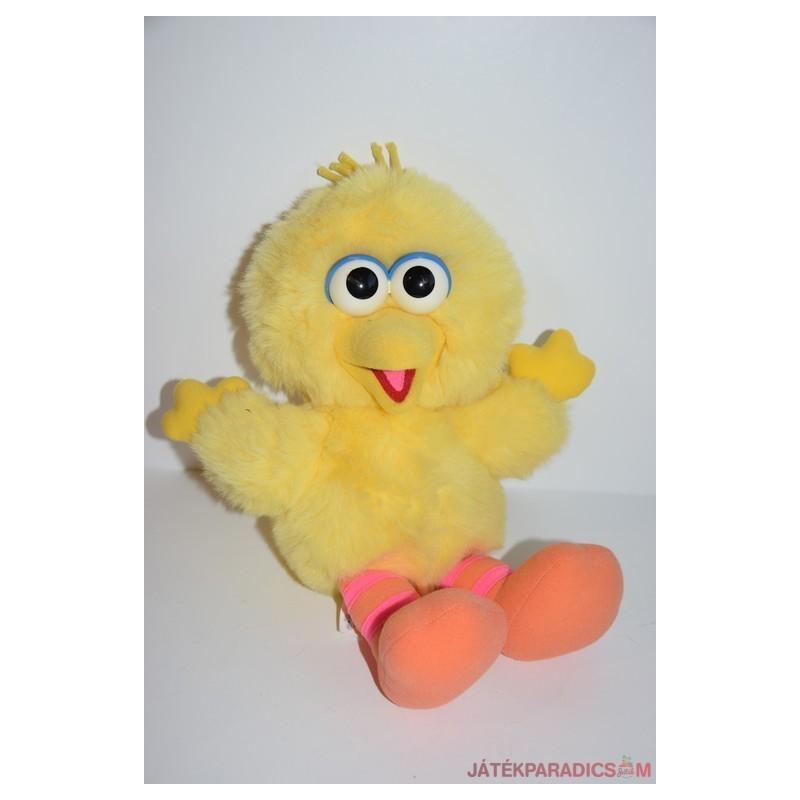Retro Sesame Street Big Bird plüss madár