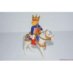 Playmobil király fehér lovon V/27