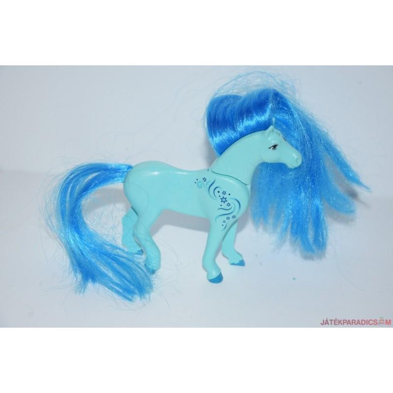 Színes sörényű Playmobil ló