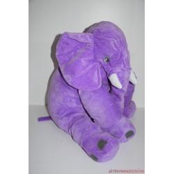 IKEA Hatalmas plüss lila elefánt Ritkaság!
