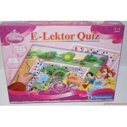 Disney hercegnők E-lektor Quiz párosító társasjáték