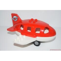 Lego Duplo piros repülőgép