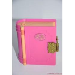 Vintage Polly Pocket Glitter Island könyv szelence
