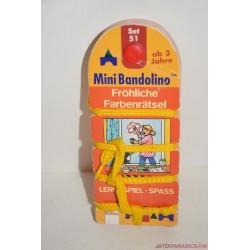 Mini Bandolino Set 51 készségfejlesztő párosító játék Vidám színes rejtvények