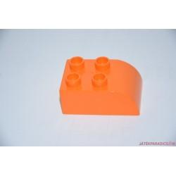 Lego Duplo narancssárgasárga domború elem