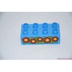 Lego Duplo virágos képes kocka