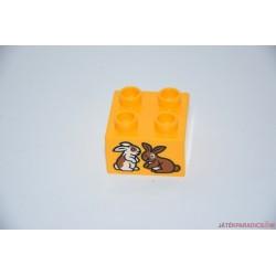 Lego Duplo nyuszik képes kocka