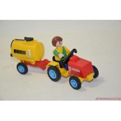 Playmobil víztárolós traktor