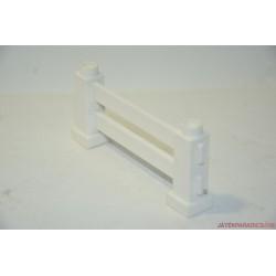 Lego Duplo fehér négyszögletes kerítés