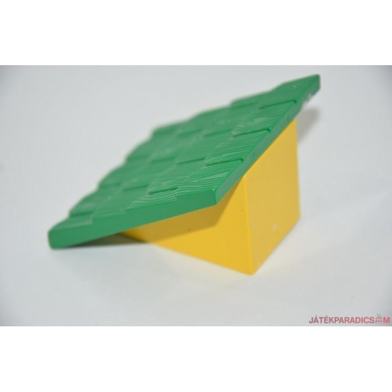 Lego Duplo zöld,sárga falú tető