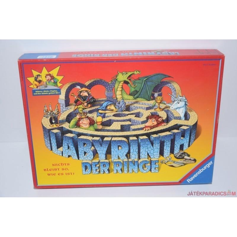 Labyrinth der Ringe Kör labirintus társasjáték
