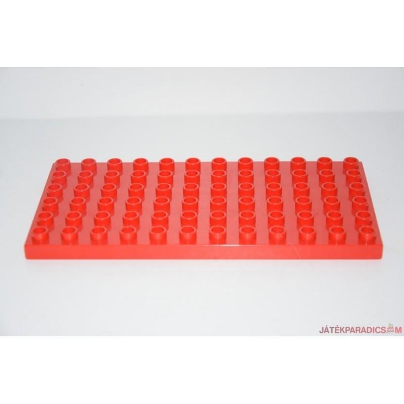 Lego Duplo piros közepes alaplap