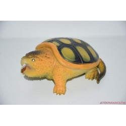 Teknősbéka gumifigura