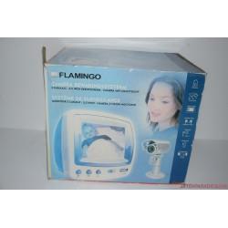 Flamingo TV képernyős kamera bébiőr