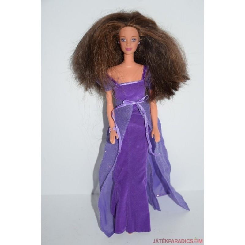Retro báli ruhás Barbie baba