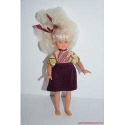 Vintage szőke hajú baba
