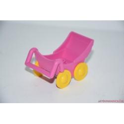 Lego Duplo rózsaszín babakocsi