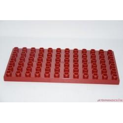 Lego Duplo bordó közepes alaplap