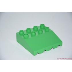 Lego Duplo világoszöld tető elem