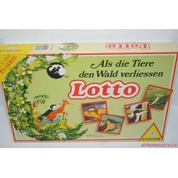 Als die Tiere den Wald verliessen Lotto Amikor az állatok elhagyták az erdőt Lottó társasjáték