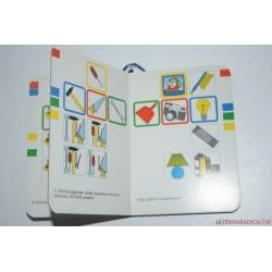 Schabolino fonalas készségfejlesztő kódfejtő játék,Otthon, párosító játék