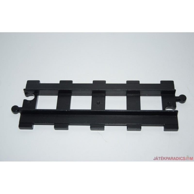 Lego Duplo fekete egyenes sín