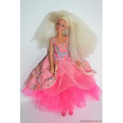 Vintage rózsaszín ruhás Sindy baba