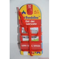 Mini Bandolino Set 72 készségfejlesztő párosító játék Tűzoltóság
