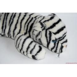 Gyönyörű plüss fehér tigris