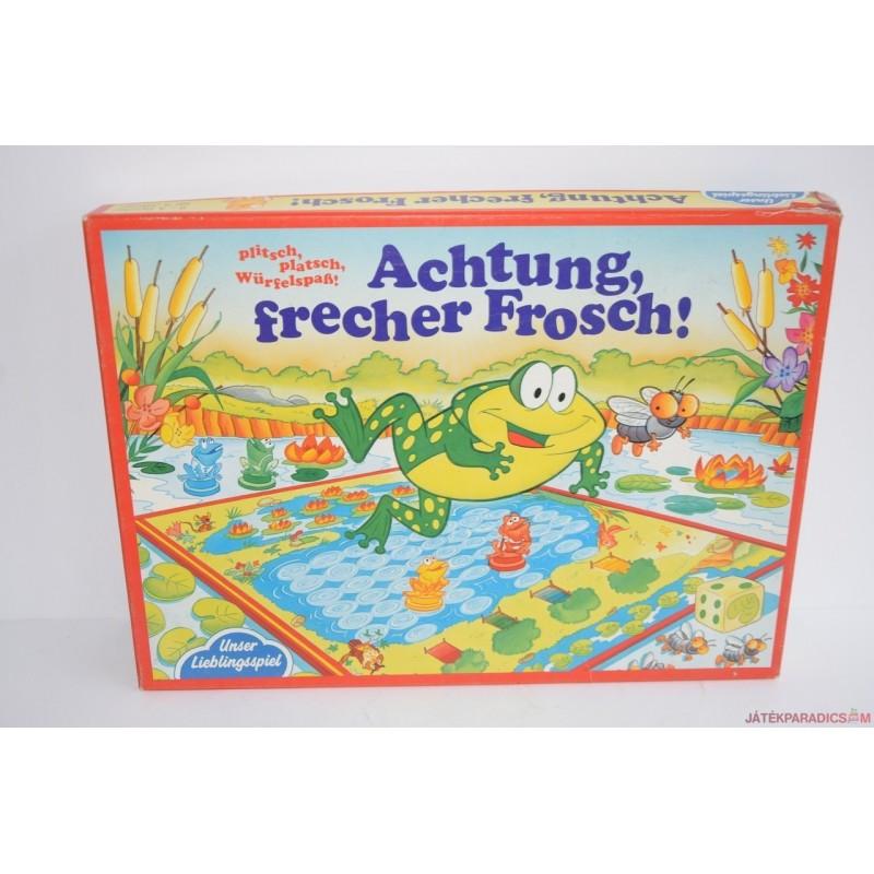 Achtung, frecher Frosch! Vigyázz,békák! társasjáték