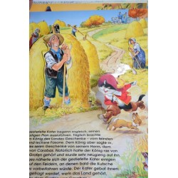 Csizmás Kandúr mesekönyv, kiugró lapokkal