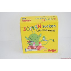 HABA Socken Zocken Zoknis hazárdjáték 4917