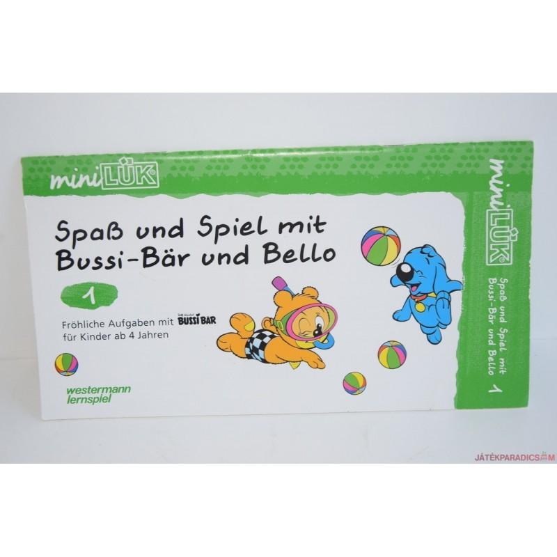 Mini Lük ovis készségfejlesztő füzet Buci maci 1