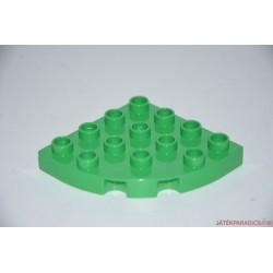 Lego Duplo íves fehér elem
