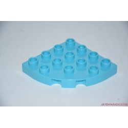 Lego Duplo íves világoskék elem
