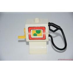 Lego Duplo fehér benzinkút tankoló