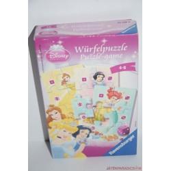 Disney Hercegnők dobókockás puzzle társasjáték