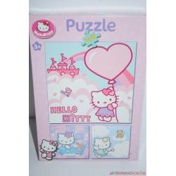 Hello Kitty 3 az 1-ben puzzle kirakós játék