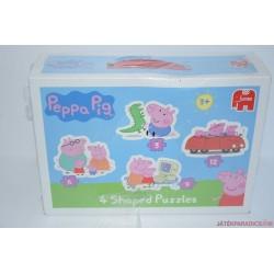 ÚJ! Peppa Pig 4 az 1-ben puzzle kirakós játék