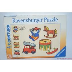 Vintage Ravensburger Contura puzzle kirakós játék