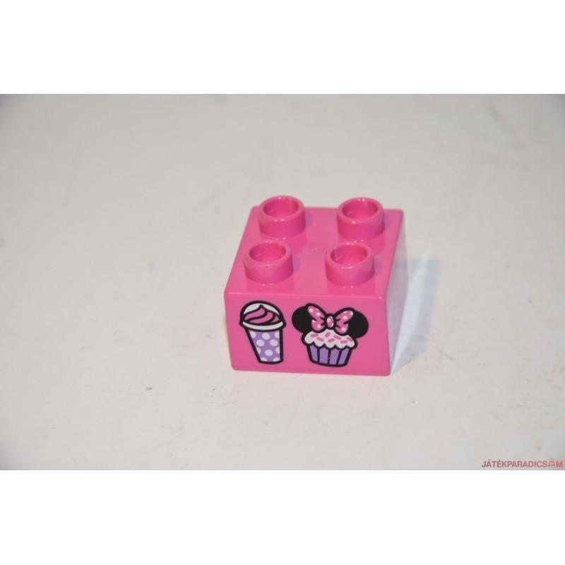 Lego Duplo Minnie muffin képes elem