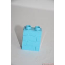 Lego Duplo kék vékony házfal tégla