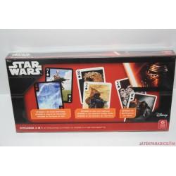 ÚJ! Star Wars 3 az 1-ben kártyajáték
