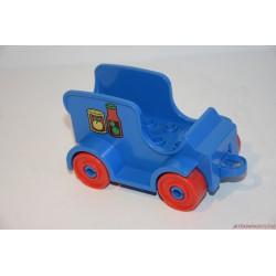 Lego Duplo építhető kék autó