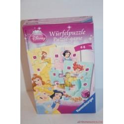 Disney Hercegnők Würfelpuzzle dobókockás puzzle társasjáték